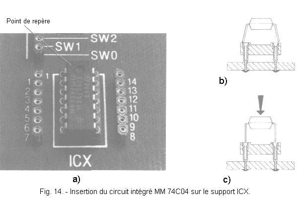 Circuit intégré RCA cd4024be x2pcs